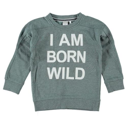 babykleding jongens sweaters Name It Grijs 108982