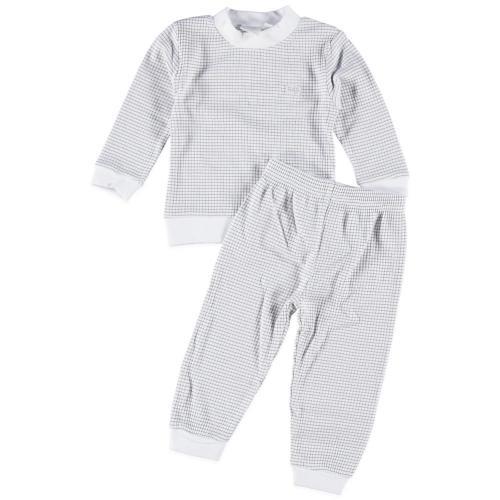 babykleding jongens pyjama Feetje Grijs Wit 93506